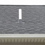 Typical radon system roof exhaust